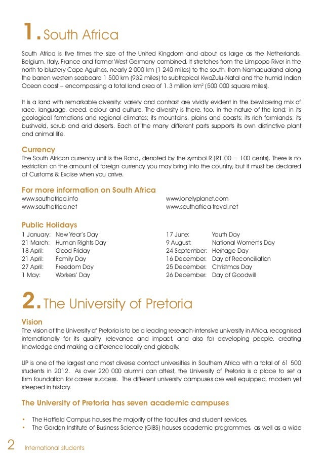 application letter to university of pretoria General admission requirements policies, tuition fees, curricula and programmes of the university of pretoria applicable at the time of printing.
