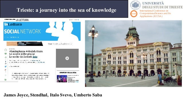 Presentation of ICCSA 2017 at the University of trieste Slide 2