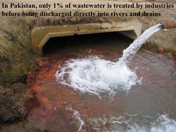 WATER POLLUTION IN PAKISTAN