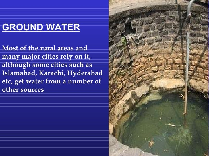water problems in pakistan essay Water issues in pakistan water is on of the basic component of life thus, it can be termed as precious commodity on.