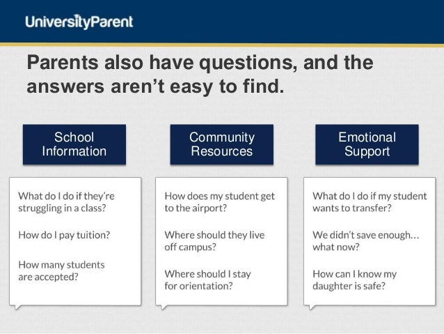 Learn More About UniversityParent Slide 3