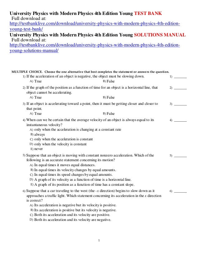 University Physics With Modern Physics 12th Edition Pdf Free 21