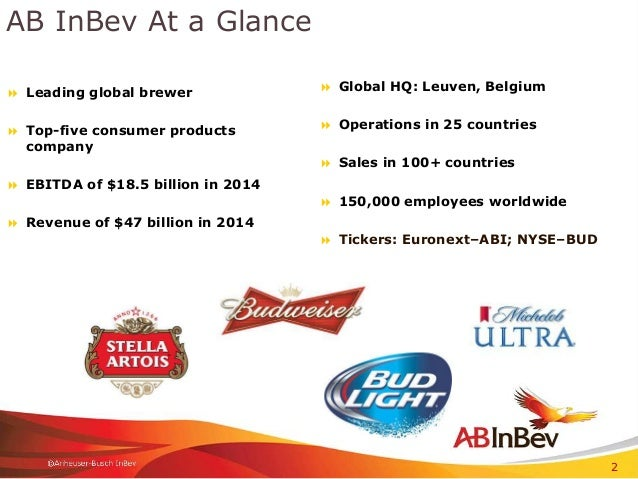 ab inbev supply chain We welcome you to explore and jumpstart your career with anheuser-busch inbev we are very proud to produce local luxembourg brands like diekirch supply chain.