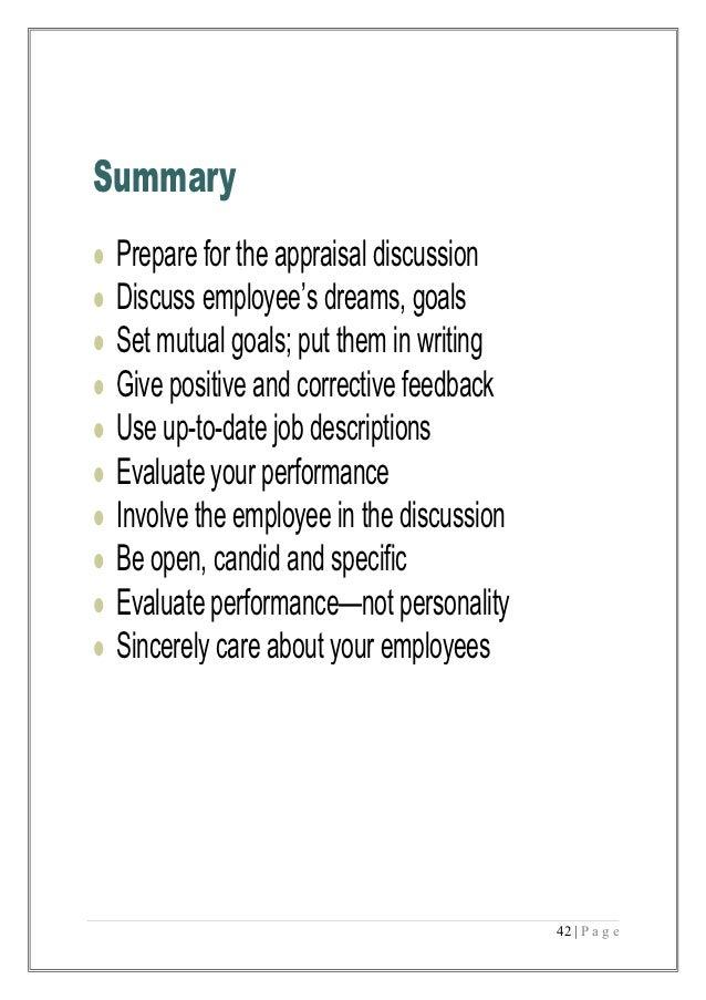 executive summary of performance appraisal project Executive summary context and purpose project performance and and poor use of professional and technical capacities to supervise project appraisal, design.