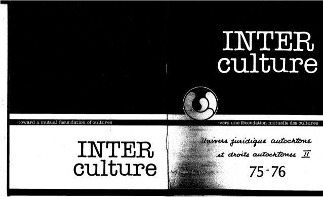 75-76-Univers juridique autochtone: le droit, le politique, les cultures. Cahier II. R. Vachon, A. Bissonnette, E. Newberr...