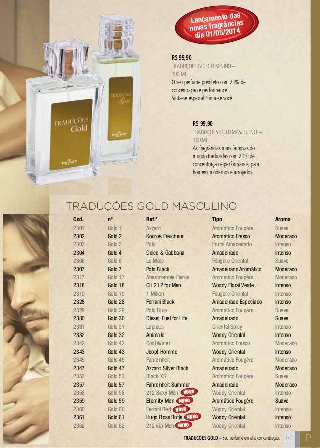 ... 67. C67 TRADUÇÕES GOLD MASCULINO ... 1a14299bbfb