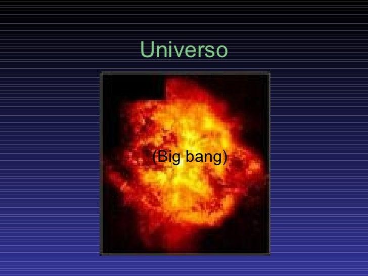 Universo (Big bang)