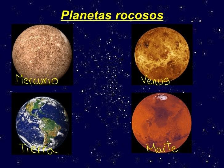 Resultado de imagen de Planetas gaseosos y rocosos