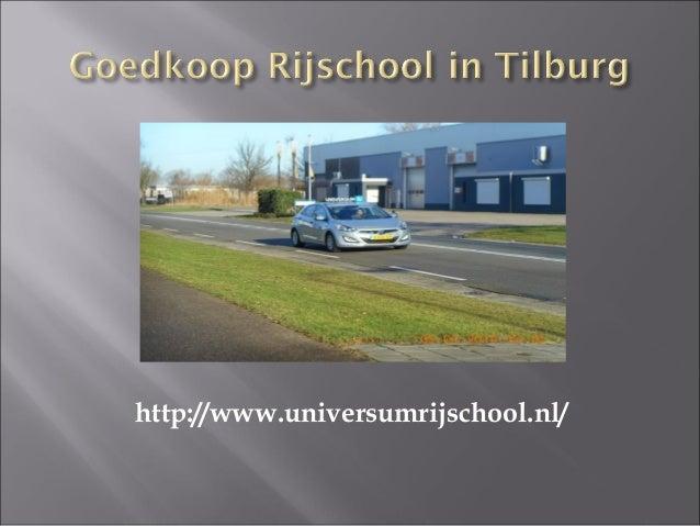 Universum Rijschool - Goedkoop Rijschool in Tilburg Slide 3