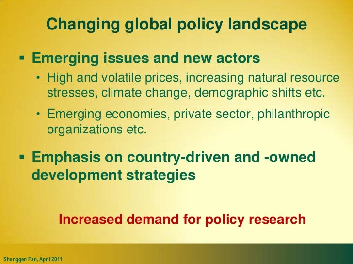 Invest in climate change adaptation and mitigation esp. through agriculture<br />Adaptation: e.g. <br />improved land mana...
