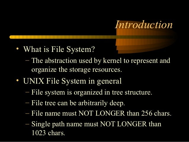 unix and linex file systems The filesystem hierarchy standard (fhs) defines the directory structure and  directory contents in linux distributions it is maintained by the linux foundation   most of these directories exist in all unix-like operating systems and are  generally.