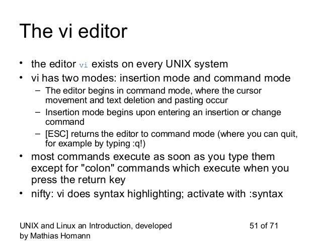 how to close a vi editor in unix