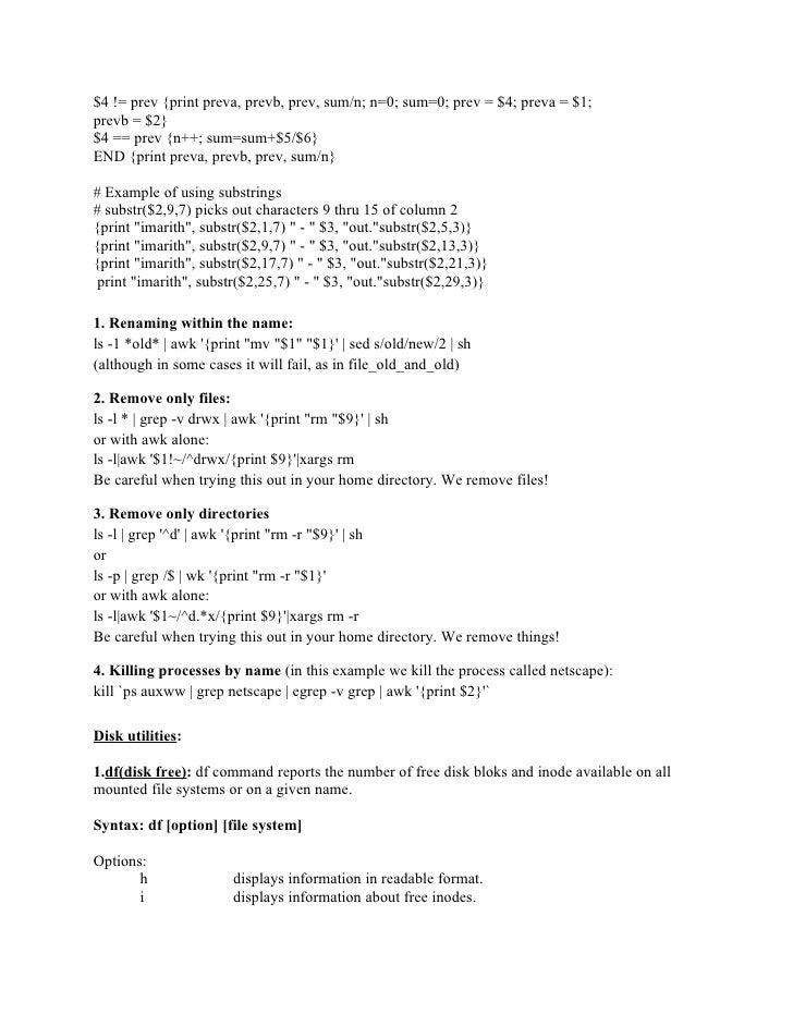 unix lab manual rh slideshare net Techno Man Unix Time