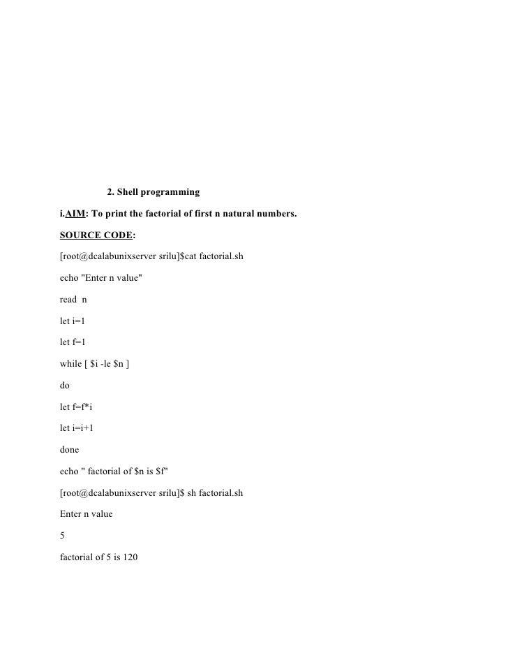 unix lab manual rh slideshare net