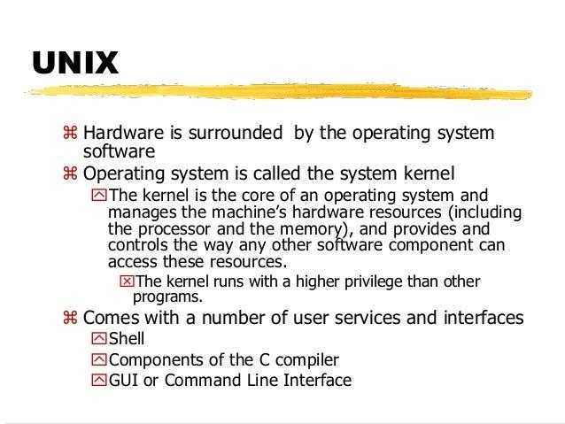 Unix Os Commands
