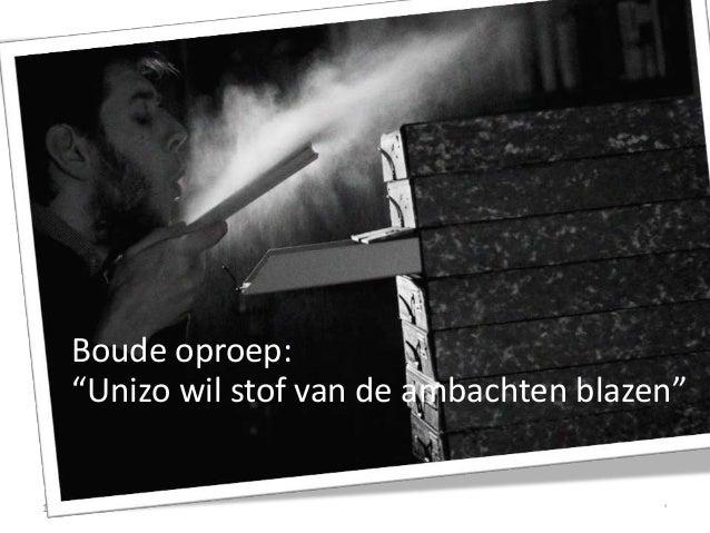 Handmade in Belgium / De Makers (UNIZO) Slide 2