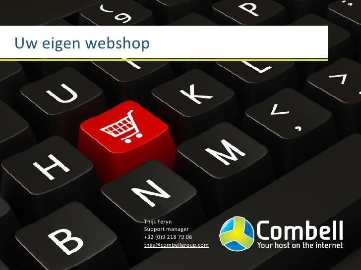 Unizo ICT coach event: Uw eigen webshop
