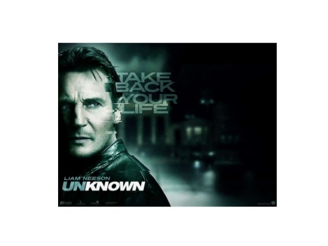 """Analyse """"Unknown"""" Trailer. • What elements of a typical thriller does it have? • How is it constructed? Why will it appeal..."""