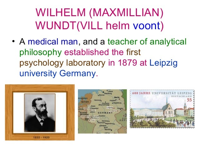 the life and accomplishments of william wundt in the field of philosophy Wilhelm wundt biography and a chair of inductive philosophy at the occurring in the center of our visual field wundt made the distinction.