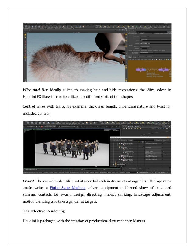Unknown Aspects of Houdini Software