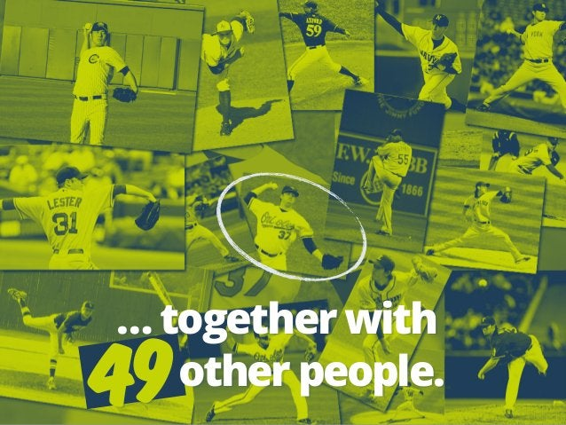 49 … together with  other people.