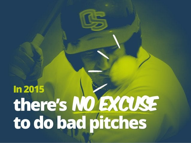 In2015 there's no excuse todobadpitches