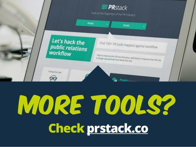 Check prstack.co More TOOLS?