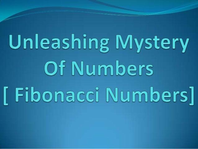 Introduction  Italian mathematician Leonardo  Pisano Fibonacci is known for the Fibonacci number sequence.