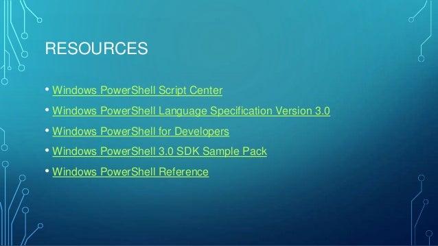 A Lap Around PowerShell 3 0