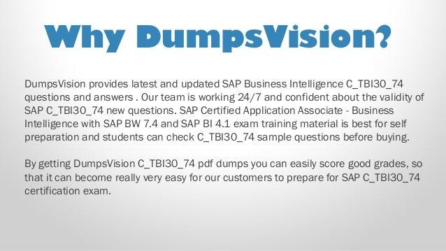 SAP Best Practice Material For C/_TBI30/_74 Exam Q/&A+SIM