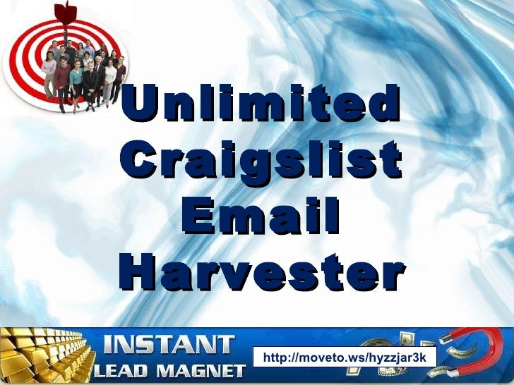 Unlimited Craigslist Email Harvester Extractor