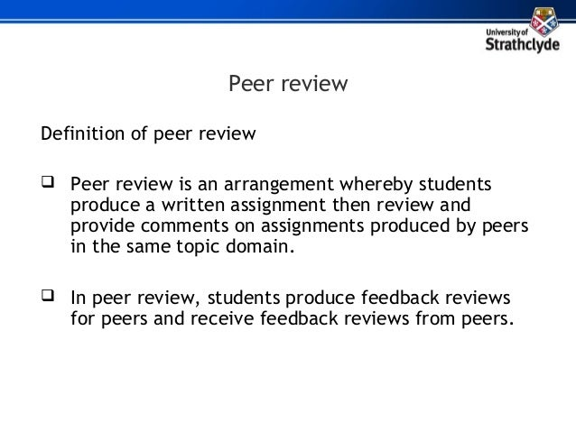 unlocking learners 39 evaluative skills a peer review