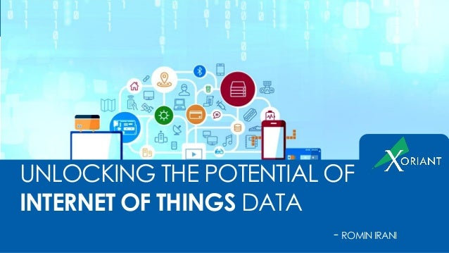 UNLOCKING THE POTENTIAL OF INTERNET OF THINGS DATA - ROMINIRANI