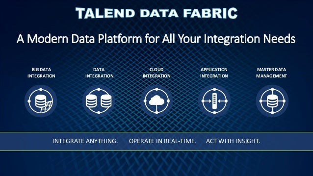 Unlocking The Value Of Your Data Assets With Talend 6