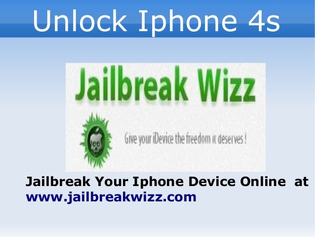 how to unlock iphone 4s software free