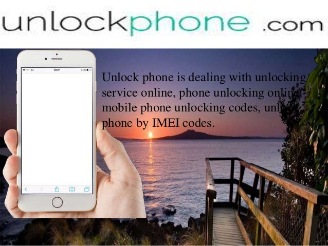 Phone Unlocking online