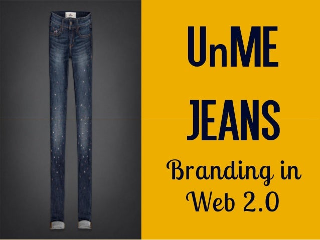 unme jeans solution Go to the harvard business review website (use the link in the syllabus) and read the case, unme jeans: branding in web 20 by thomas steenburgh and jill avery post your answers to the following questions.