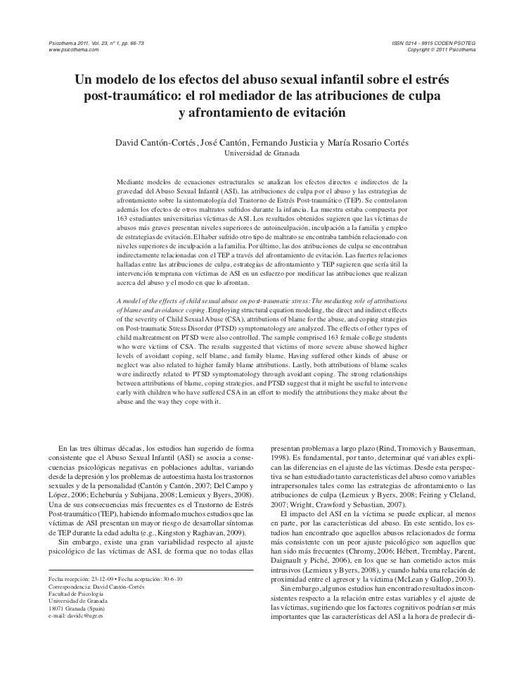 Psicothema 2011. Vol. 23, nº 1, pp. 66-73                                                                                 ...