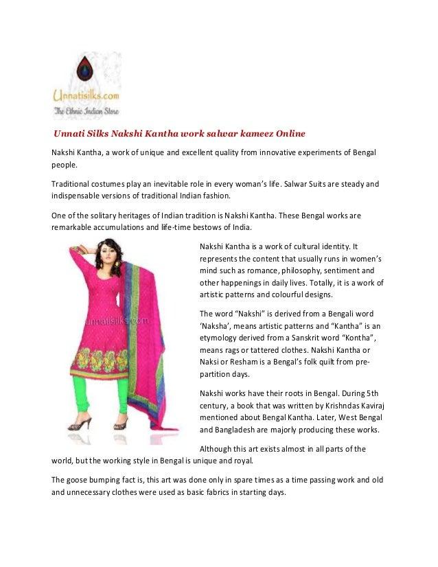 Kantha Work Salwars Online-Salwars online-Online Punjabi Suits