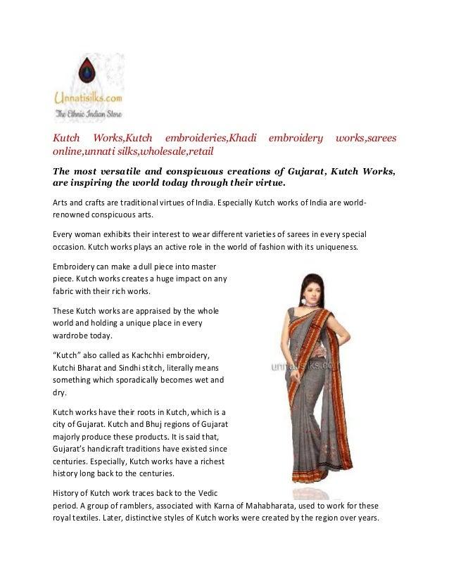 Online Sarees Saris Online Embroidery Work Sarees Online Kutch Work S