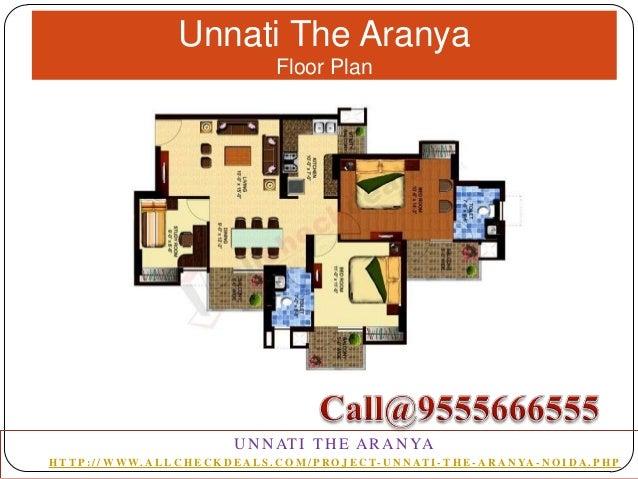Unnati The Aranya Floor Plan  U N N AT I T H E A R A N YA H T T P : / / W W W. A L L C H E C K D E A L S . C O M / P R O J...
