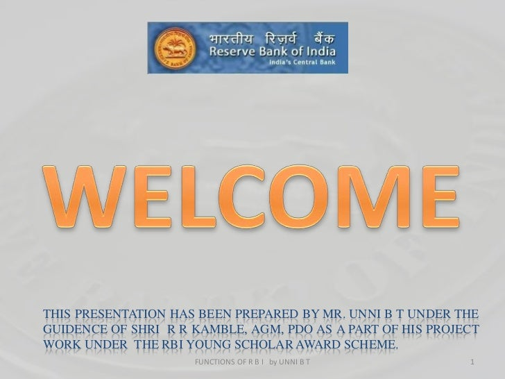 1<br />WELCOME<br />This presentation has been prepared by Mr. UNNI B T UNDER THE GUIDENCE OF SHRI  R R KAMBLE, AGM, PDO a...