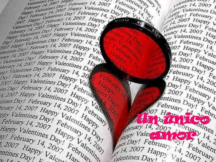 Un único amor<br />