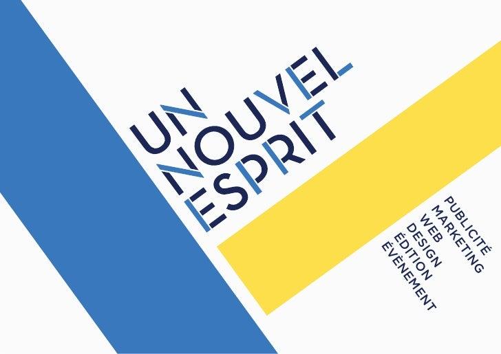 UN NOUVEL ESPRIT - Portfolio