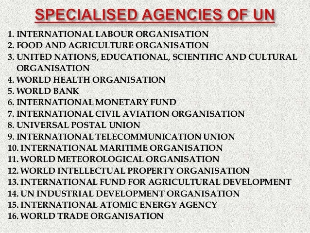 United Nations Organization Everything About United Nations