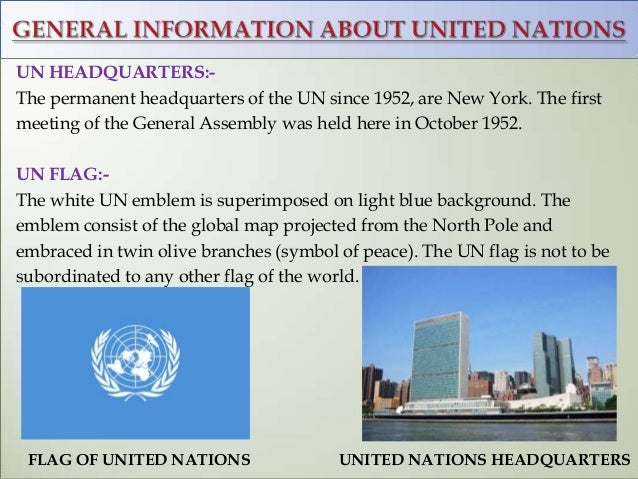 the united nations organization uno The united nations is an international organization designed to make the enforcement of international law, security, and human rights economic development and social progress easier for countries around the world the united nations includes 193 member countries and two permanent observer .
