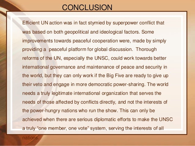 United Nations Organisation
