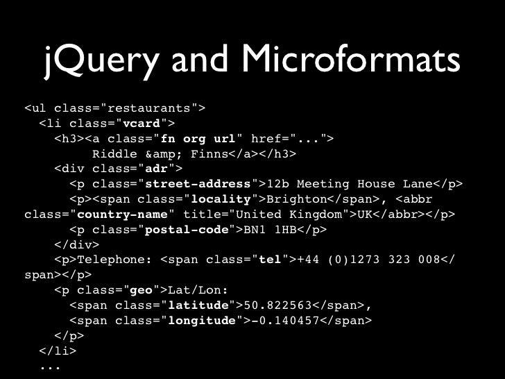Unobtrusive JavaScript with jQuery