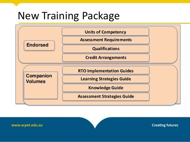 Knowledge evidence pack unit qcf641