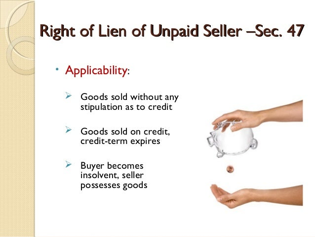 Law unpaid seller